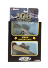 CORGI KITTYHAWK WRIGHT FLYER RYAN NYP SPIRIT ST LOUIS DIECAST 2 PACK PIONEERS